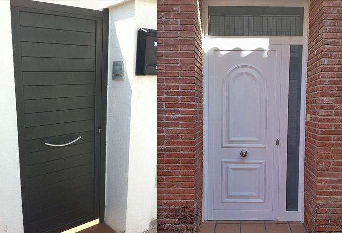 Puertas de entrada de aluminio fabricantes e - Puertas entrada aluminio ...